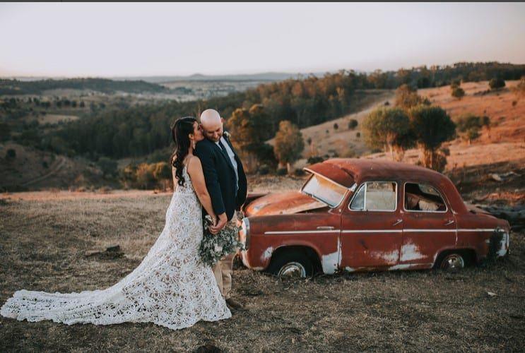 sasha tanned bride 3